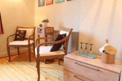 Villa Emma Gent: gastenkamer Acacia zithoek