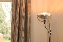 Villa Emma Gent: Flos Toio in salon gastenkamer Acacia