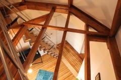 Villa Emma Gent: structuur toren in gastenkamer Acacia
