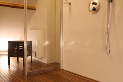 Villa Emma Gent: Gessi douche in gastenkamer Acacia