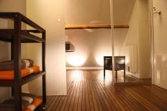 Villa Emma Gent: badkamer in gastenkamer Acacia