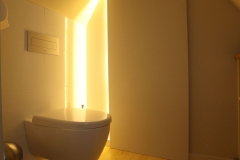 Villa Emma Gent: toilet in gastenkamer Acacia