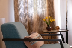Villa Emma Gent: detail salon in gastenkamer Acacia