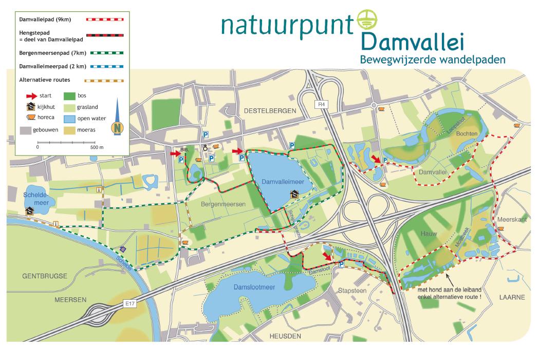 Kaart_Damvallei