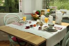 De ontbijtkamer