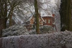 Villa Emma in een sneeuwlandschap 1
