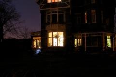 villa emma bij nacht