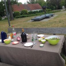 Bike & luxe picnic